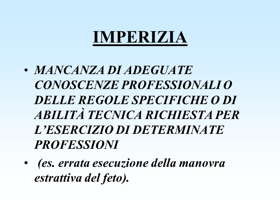 IMPERIZIA