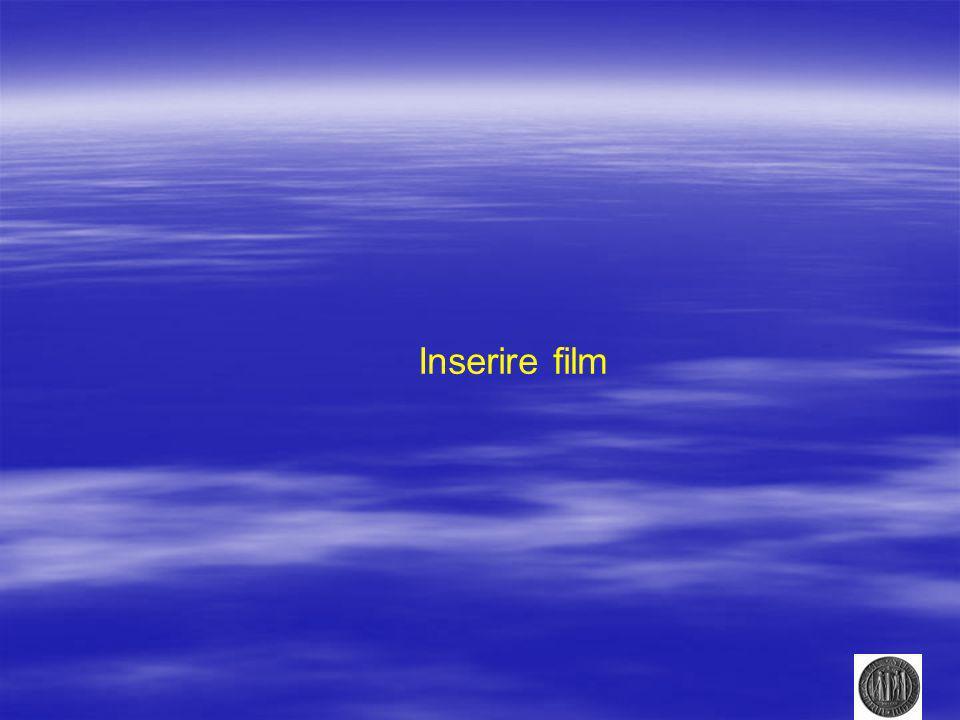 Inserire film