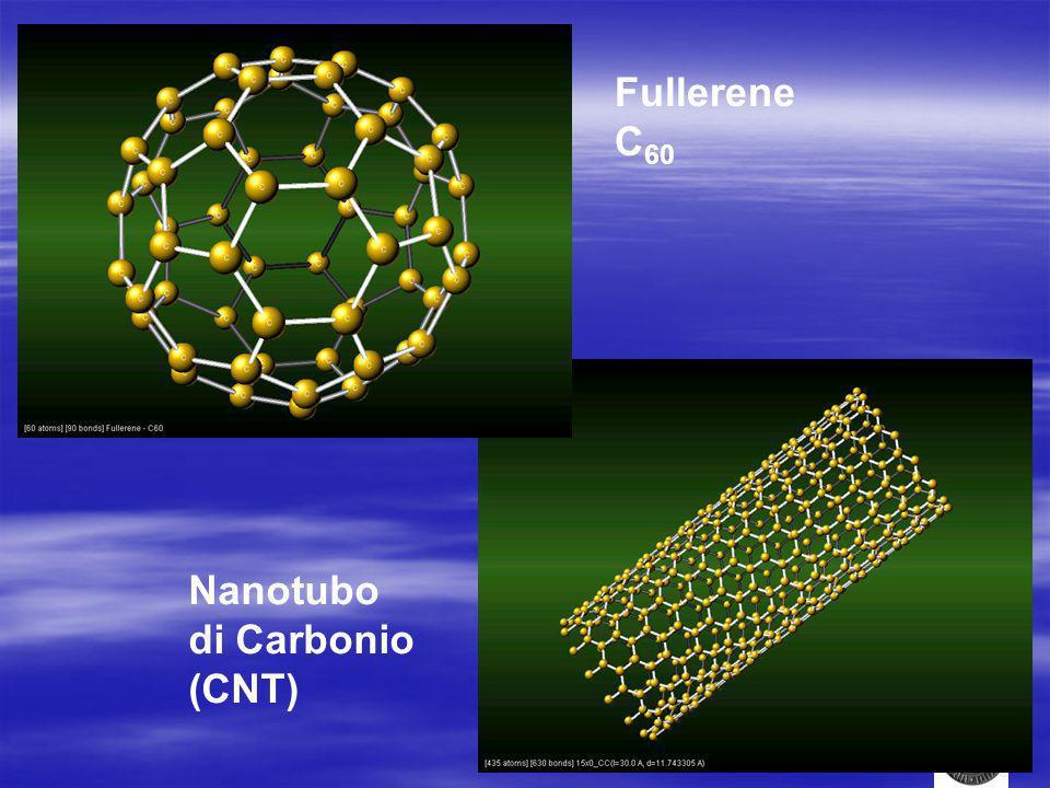 Fullerene C60 Nanotubo di Carbonio (CNT)