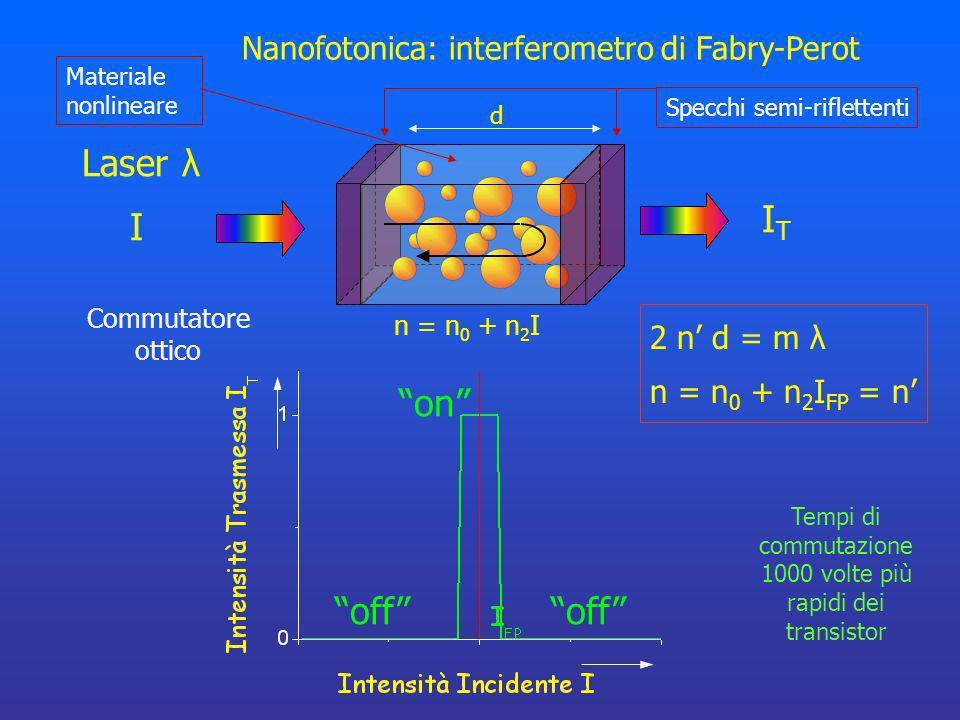 Tempi di commutazione 1000 volte più rapidi dei transistor