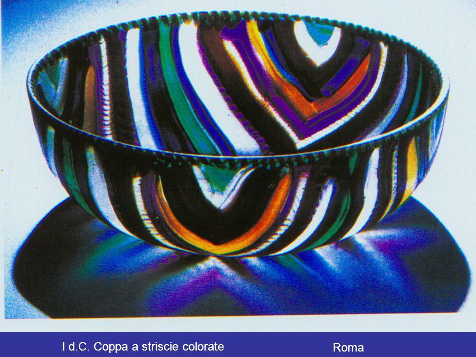 I d.C. Coppa a striscie colorate