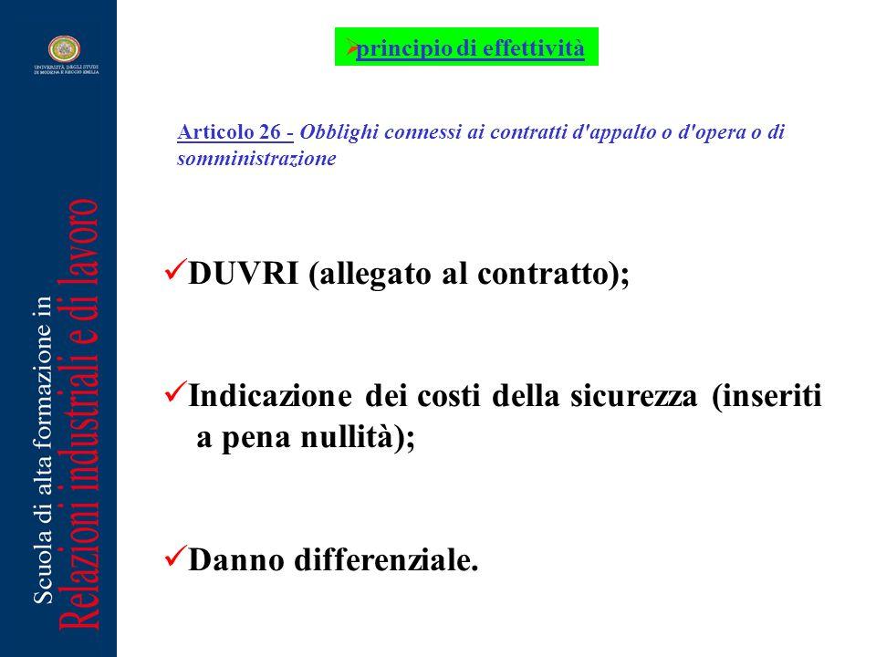 DUVRI (allegato al contratto);