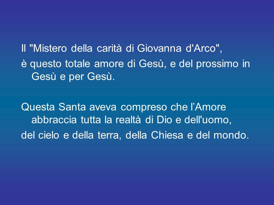Il Mistero della carità di Giovanna d Arco ,