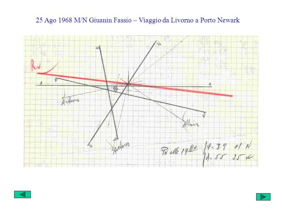 25 Ago 1968 M/N Giuanin Fassio – Viaggio da Livorno a Porto Newark