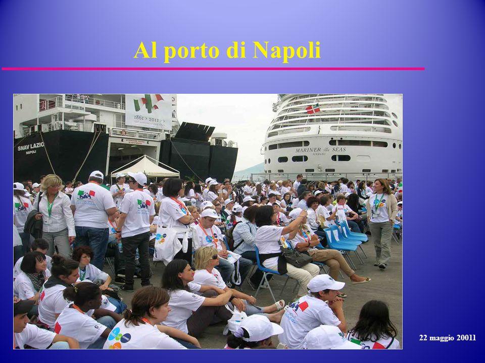 Al porto di Napoli 22 maggio 20011
