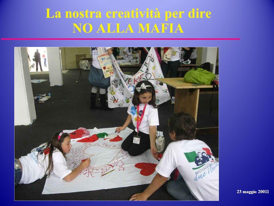 La nostra creatività per dire NO ALLA MAFIA