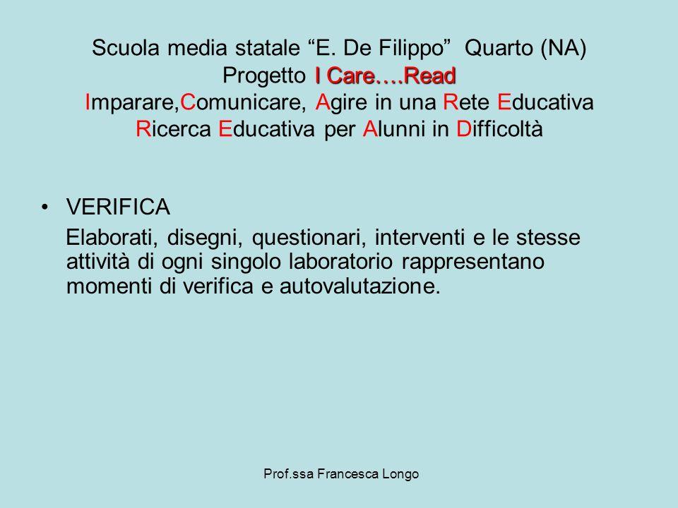 Prof.ssa Francesca Longo