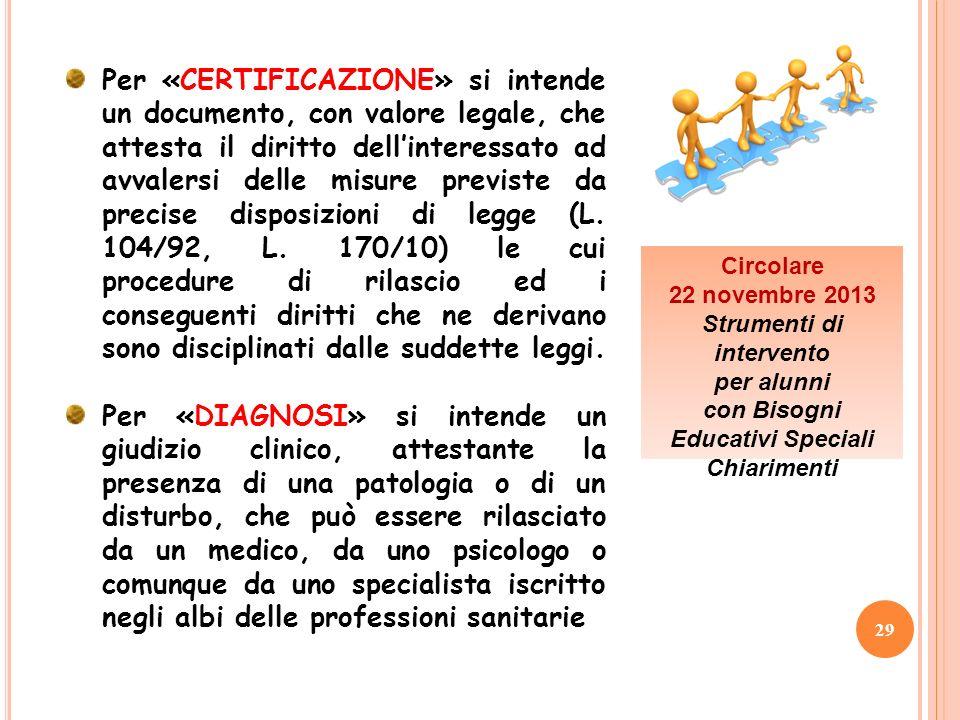 Strumenti di intervento con Bisogni Educativi Speciali