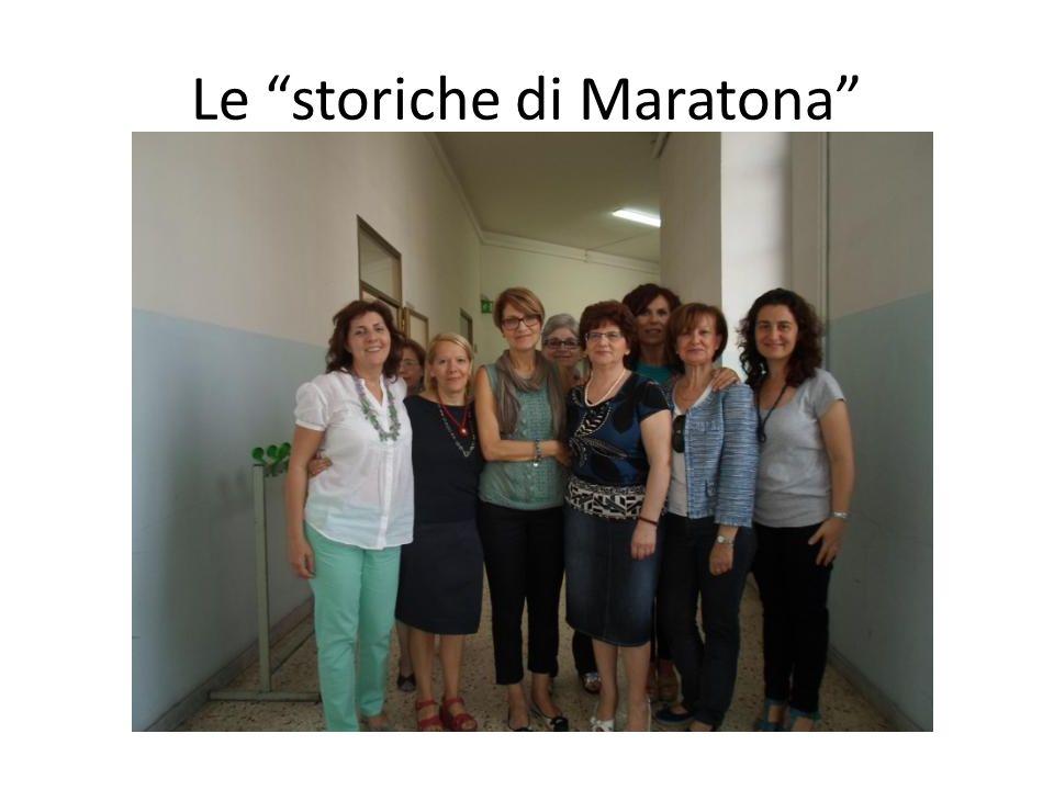 Le storiche di Maratona