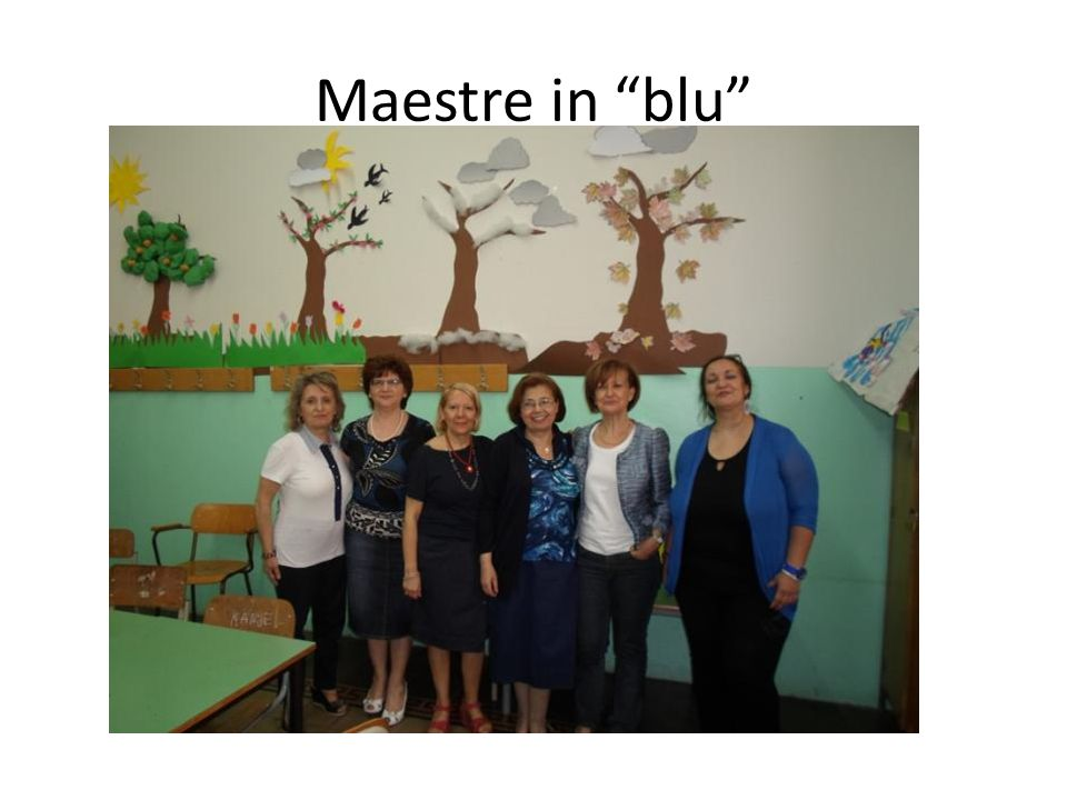 Maestre in blu Maestre in blu
