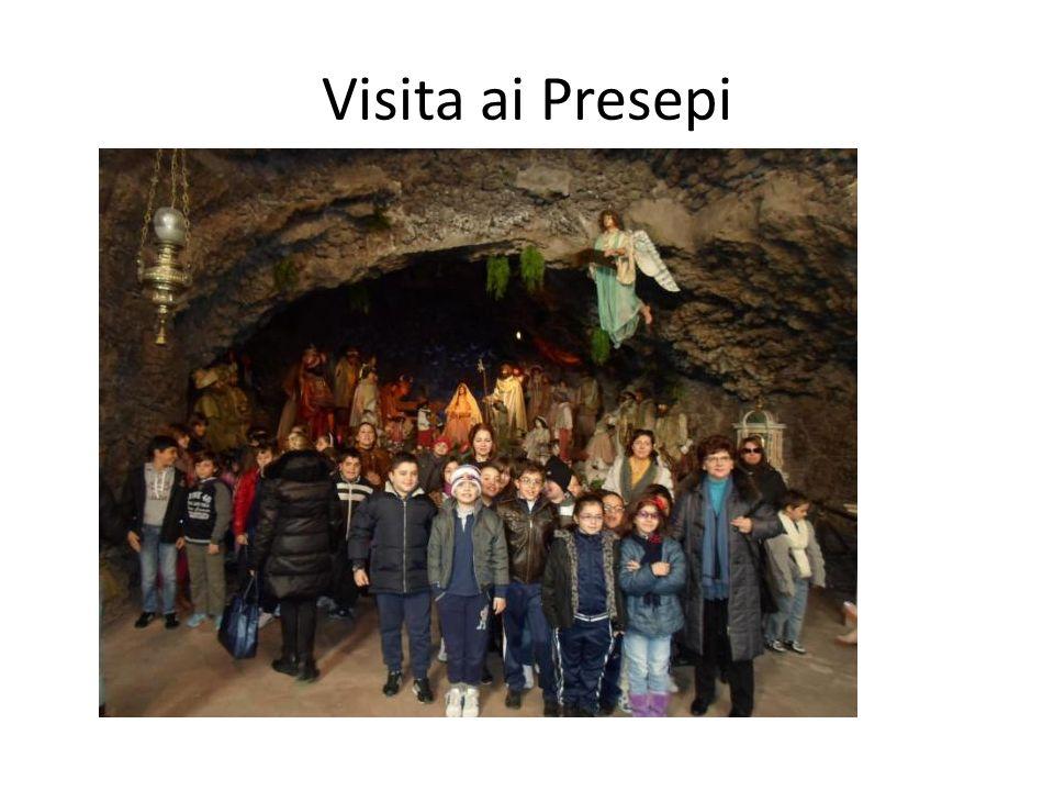 Visita ai Presepi VISITA AI PRESEPI