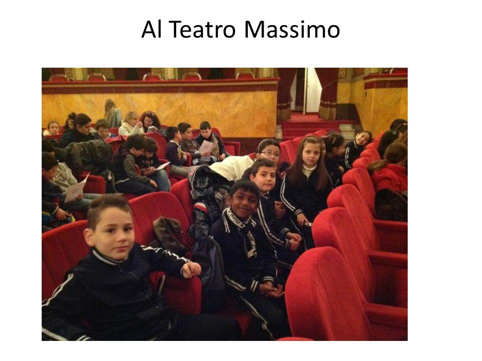 Al Teatro Massimo TEATRO MASSIMO