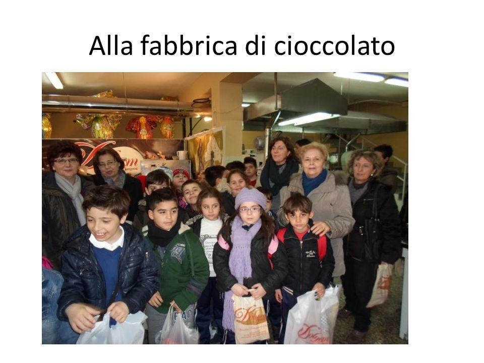 Alla fabbrica di cioccolato