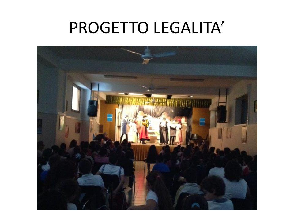 PROGETTO LEGALITA' Progetto LEGALITA'