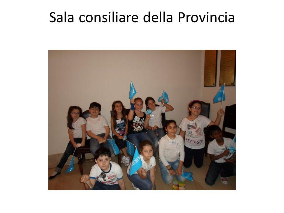 Sala consiliare della Provincia
