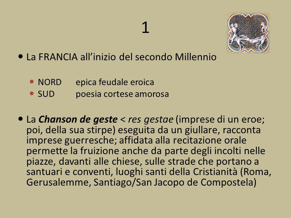 1 La FRANCIA all'inizio del secondo Millennio