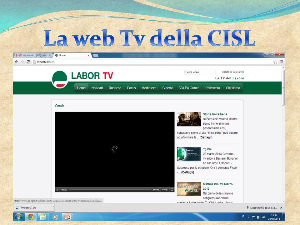 La web Tv della CISL