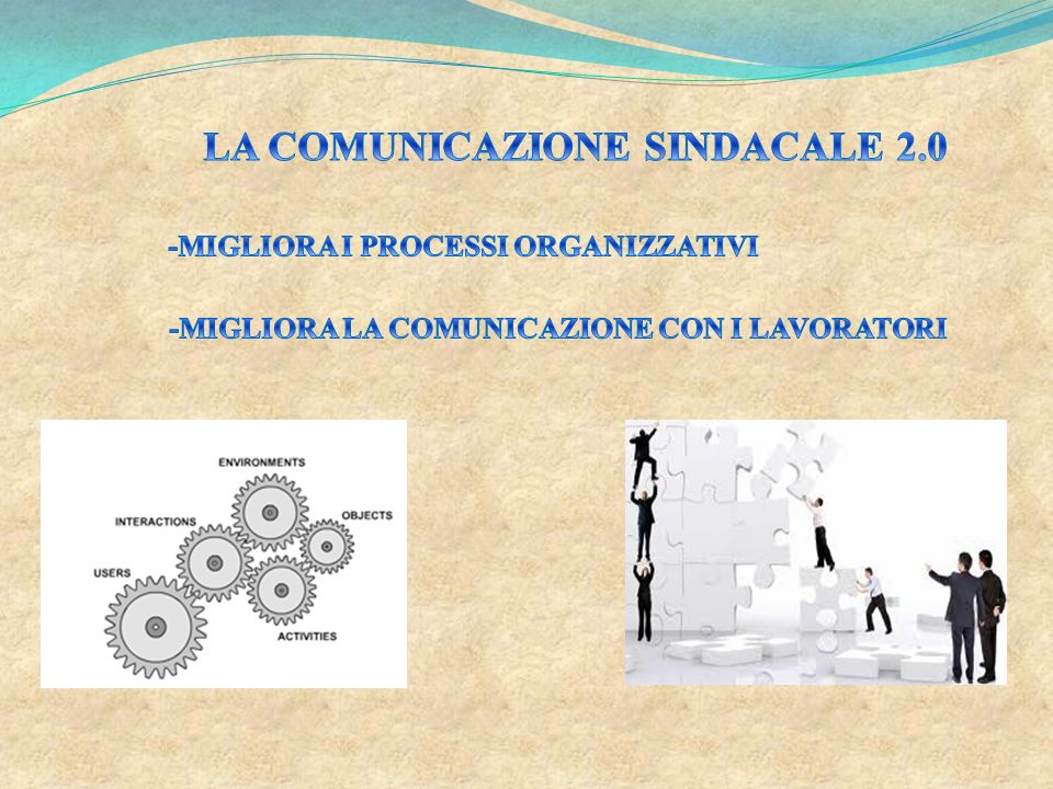 LA COMUNICAZIONE SINDACALE 2.0