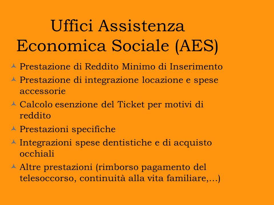 Uffici Assistenza Economica Sociale (AES)