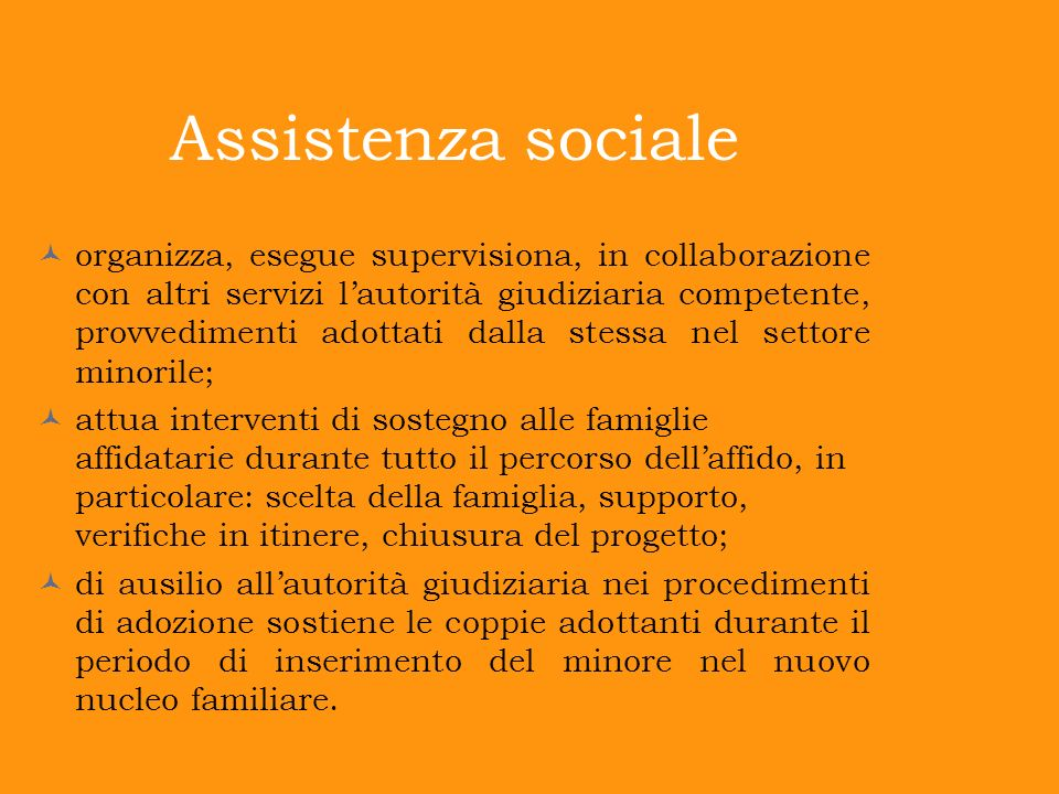 Assistenza sociale