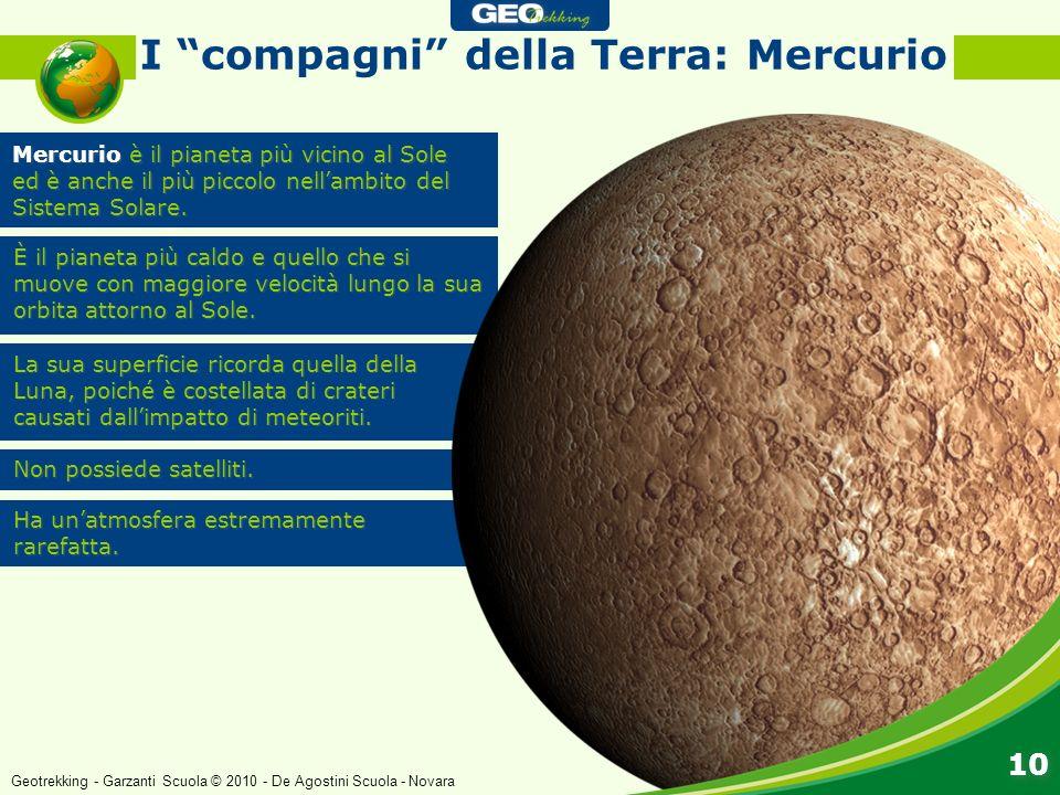 I compagni della Terra: Mercurio