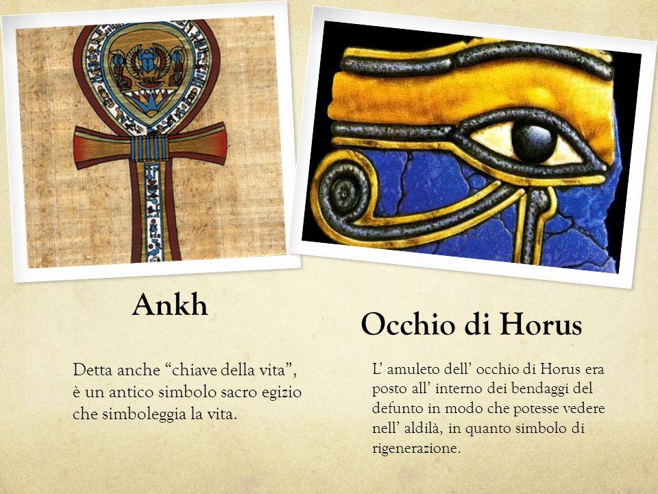 Ankh Occhio di Horus Detta anche chiave della vita ,