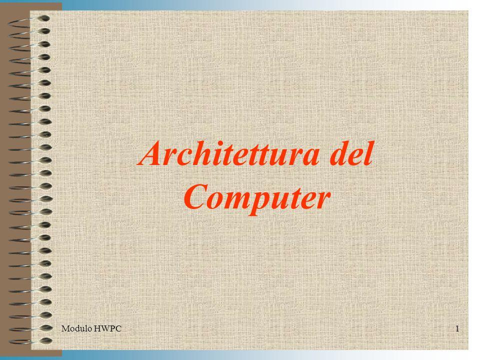 Architettura del Computer