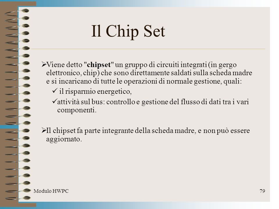 Il Chip Set