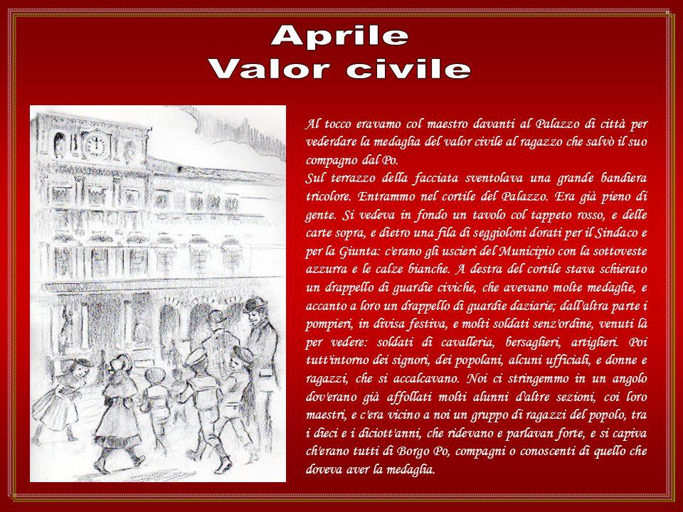 Aprile Valor civile.