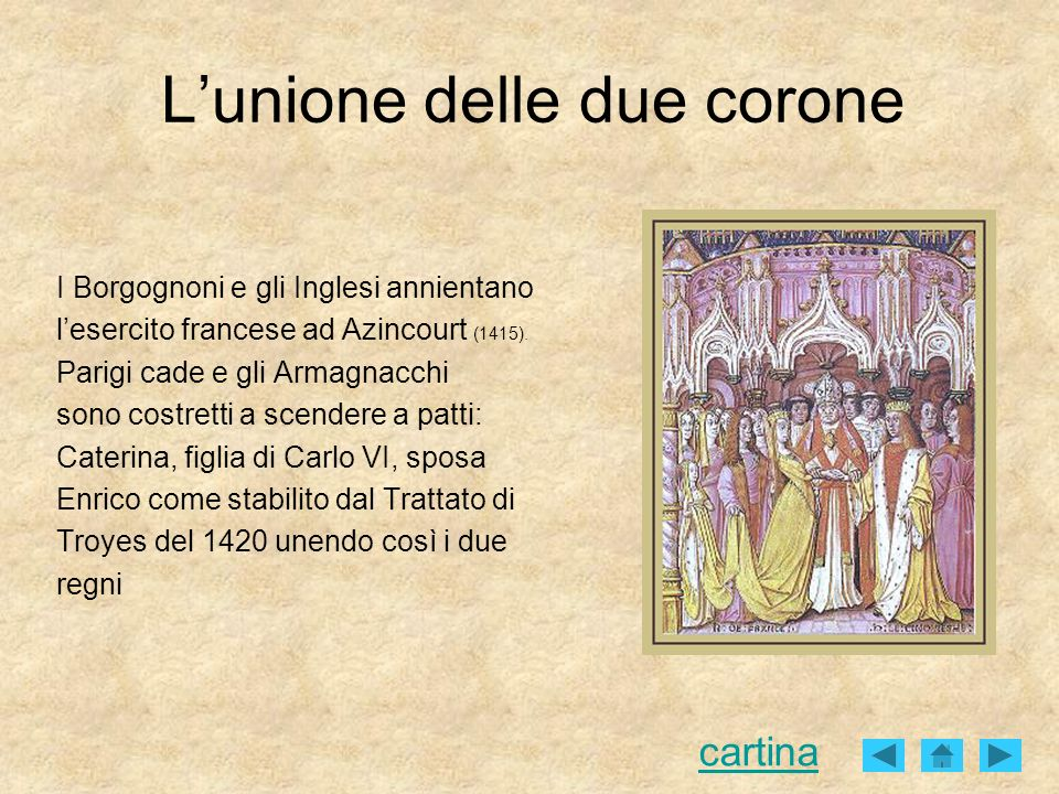 L'unione delle due corone