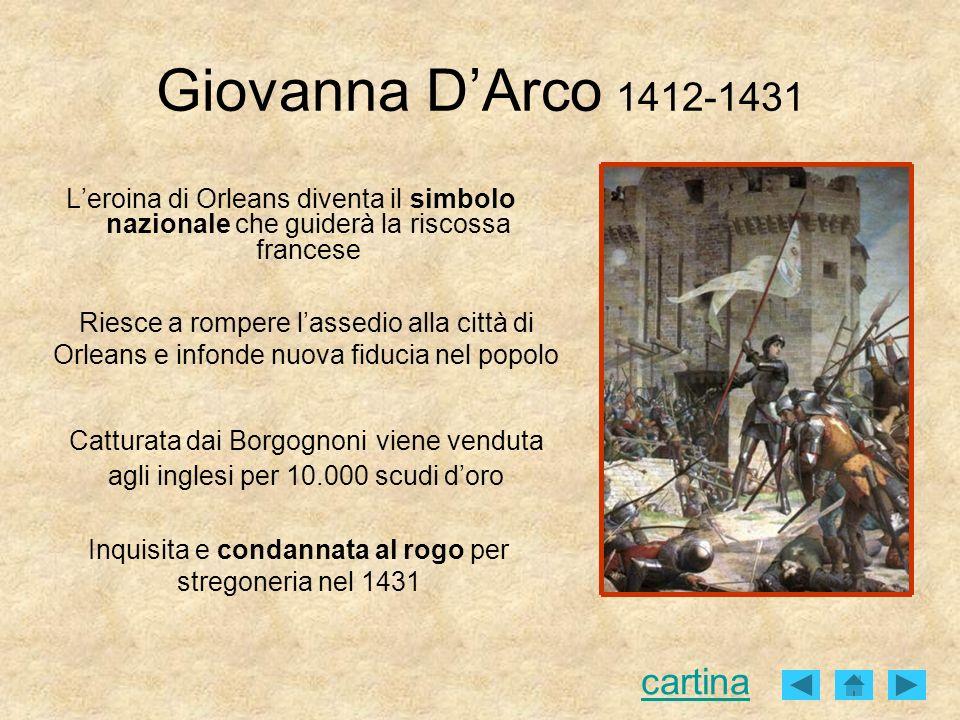 Inquisita e condannata al rogo per stregoneria nel 1431