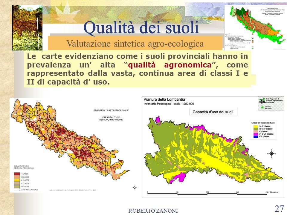 Valutazione sintetica agro-ecologica