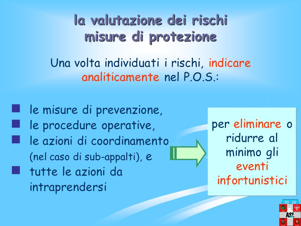 la valutazione dei rischi misure di protezione