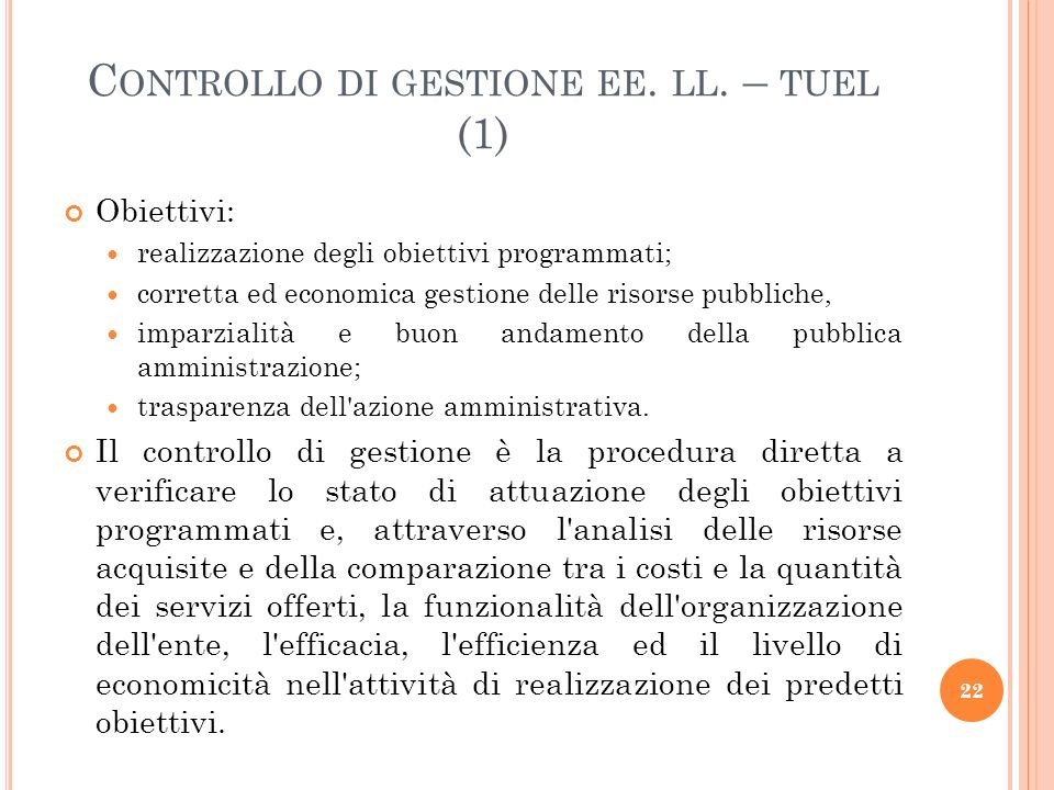 Controllo di gestione ee. ll. – tuel (1)