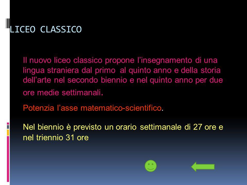 LICEO CLASSICO