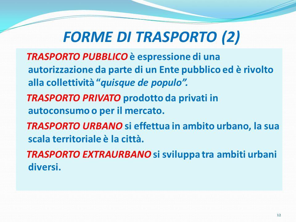 FORME DI TRASPORTO (2)