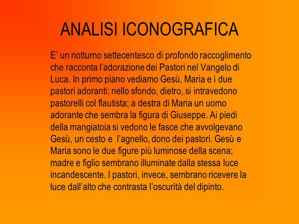 ANALISI ICONOGRAFICA