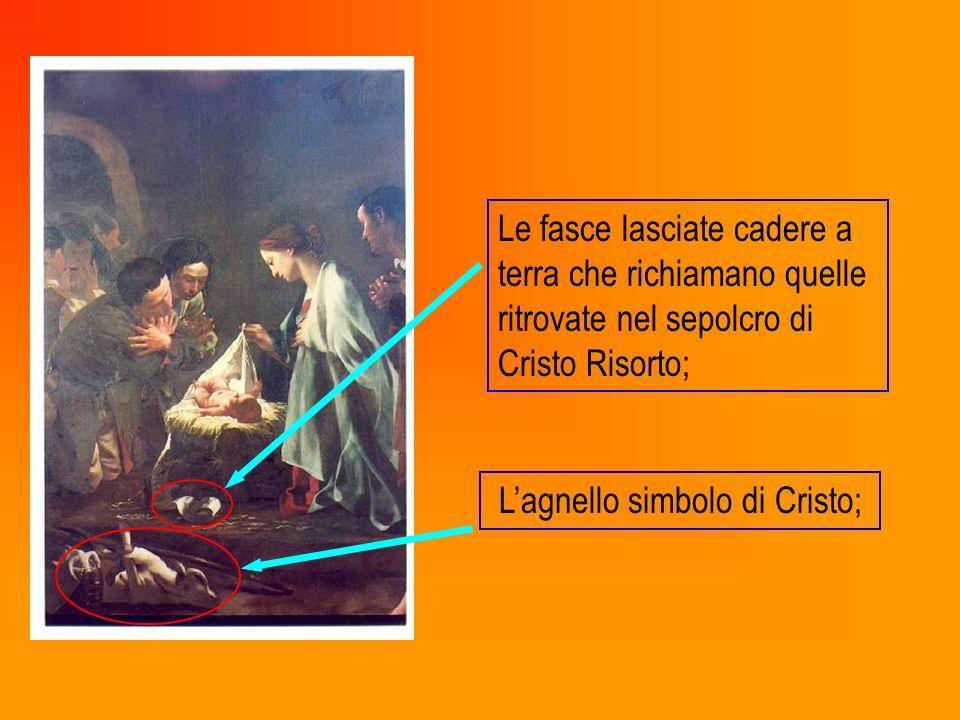 L'agnello simbolo di Cristo;