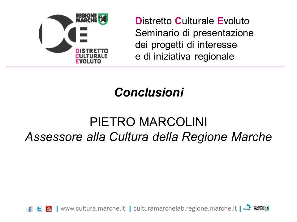 Assessore alla Cultura della Regione Marche