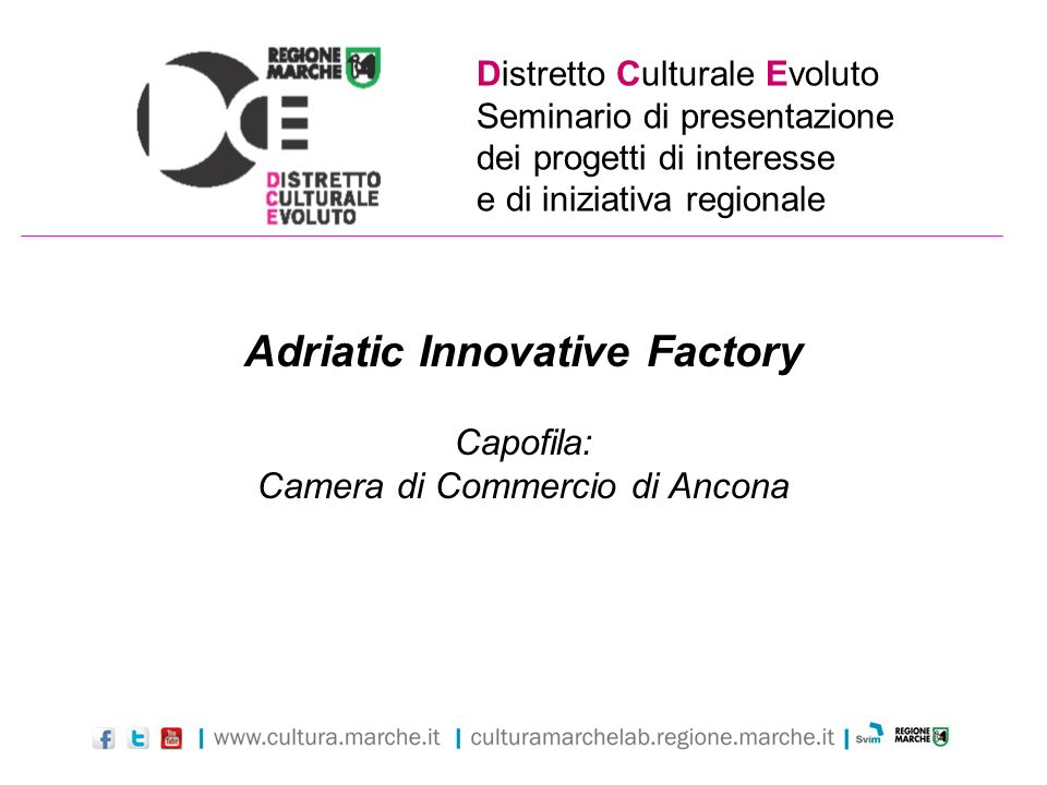 Adriatic Innovative Factory