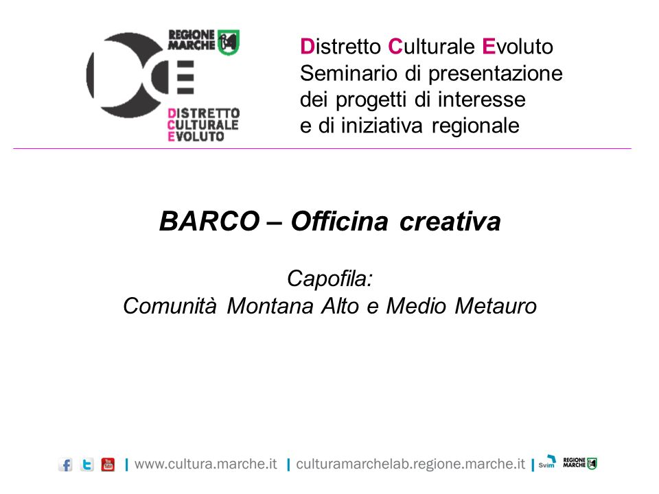 BARCO – Officina creativa