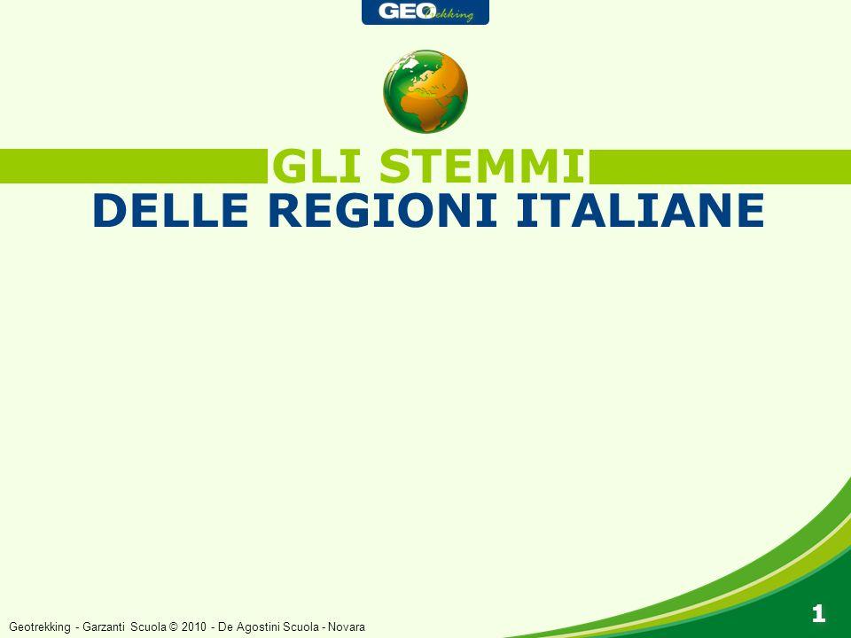 GLI STEMMI DELLE REGIONI ITALIANE