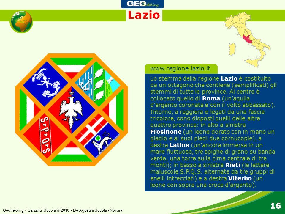 Lazio 16 www.regione.lazio.it