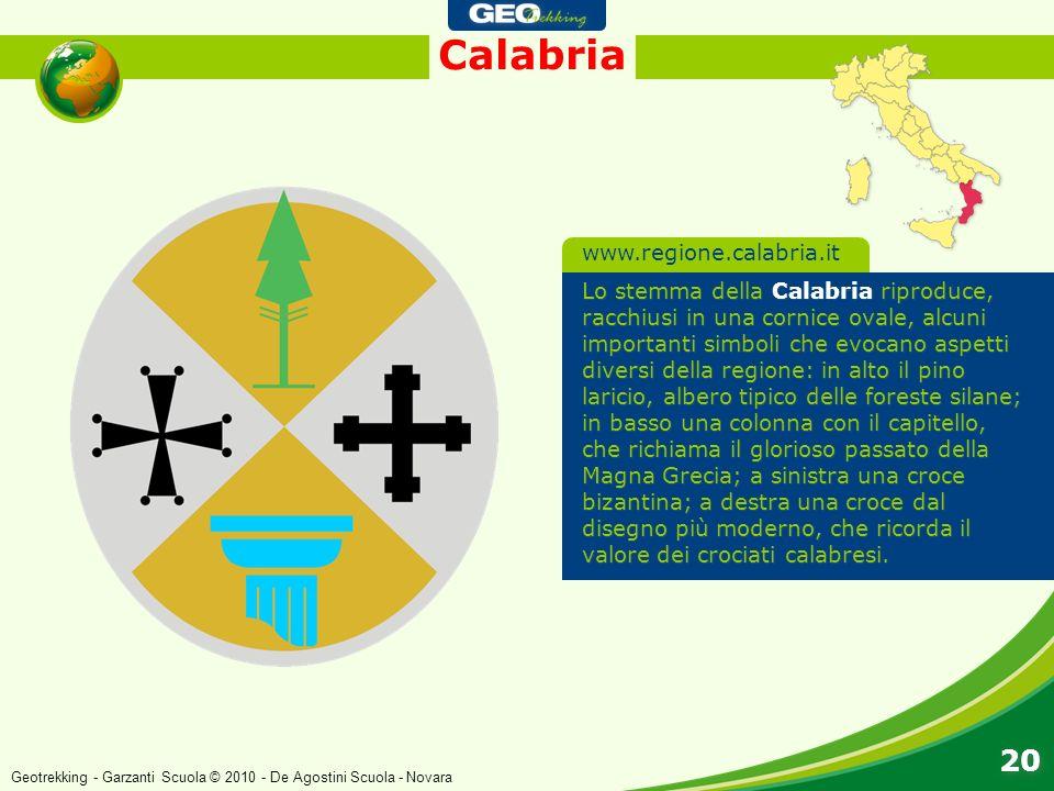 Calabria 20 www.regione.calabria.it
