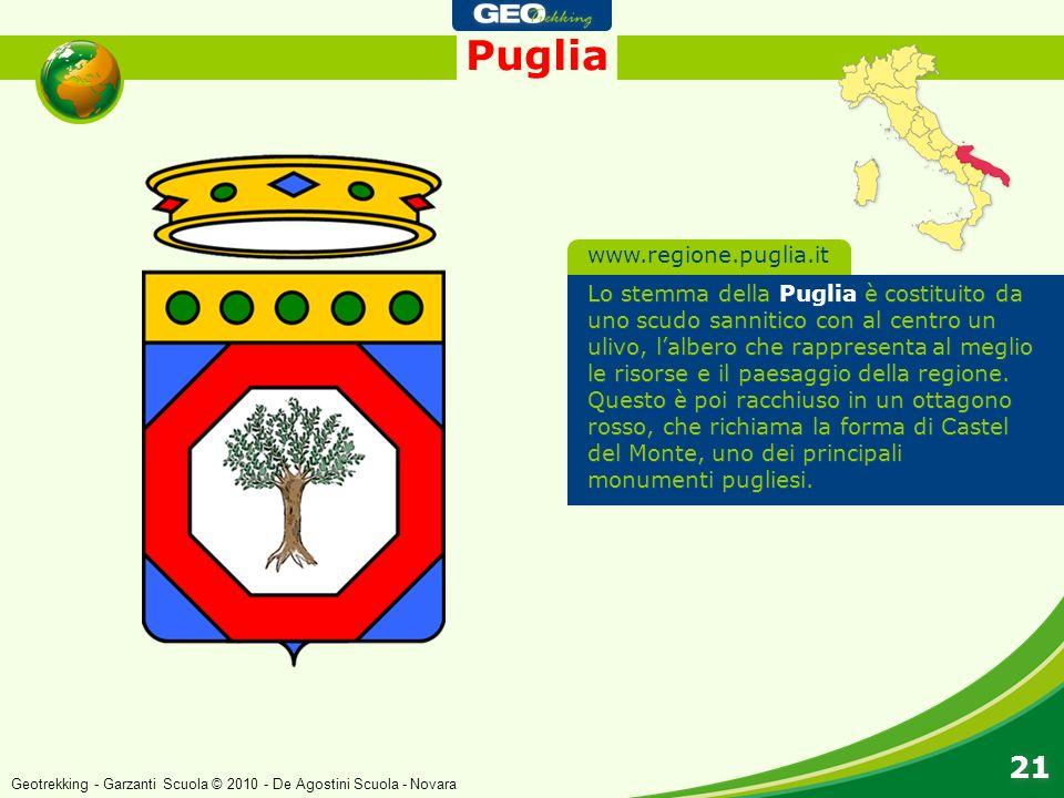 Puglia 21 www.regione.puglia.it