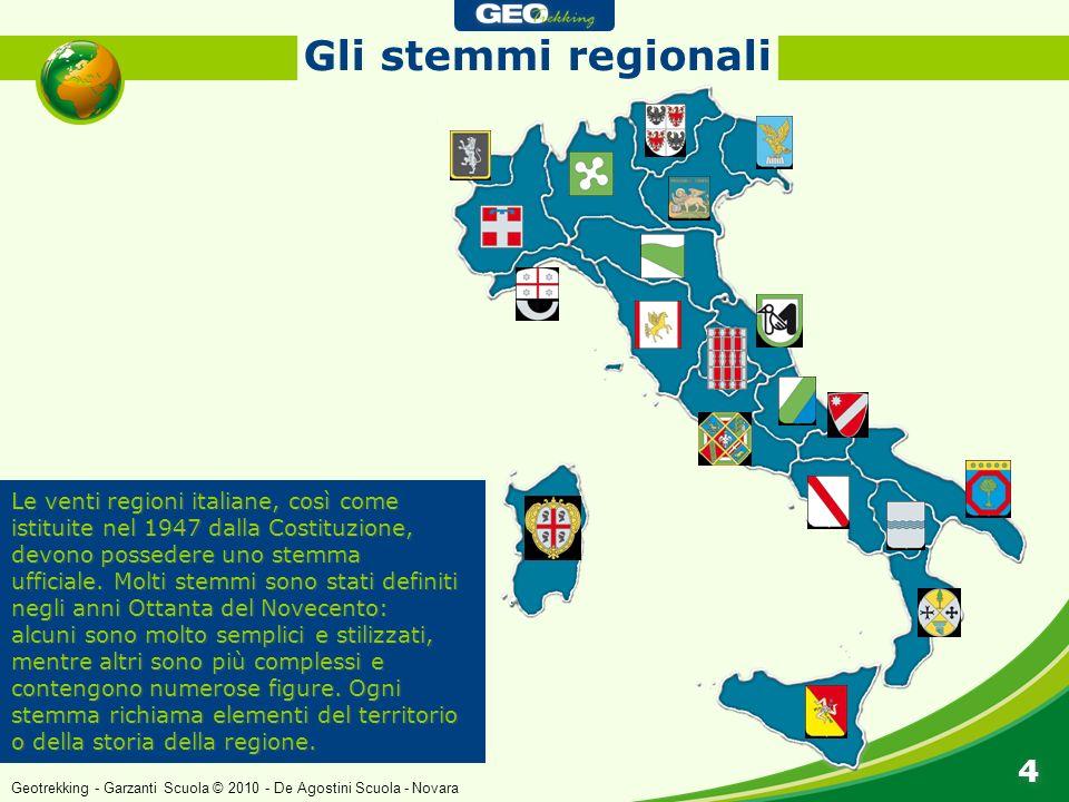 Gli stemmi regionali