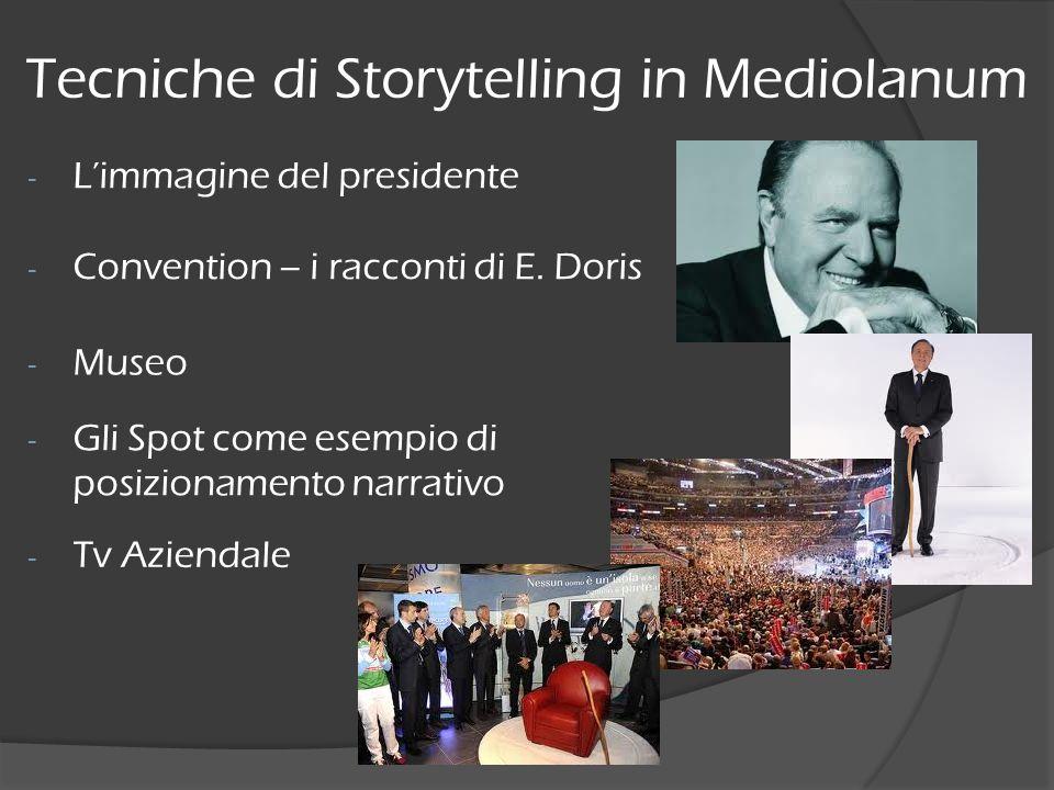 Tecniche di Storytelling in Mediolanum