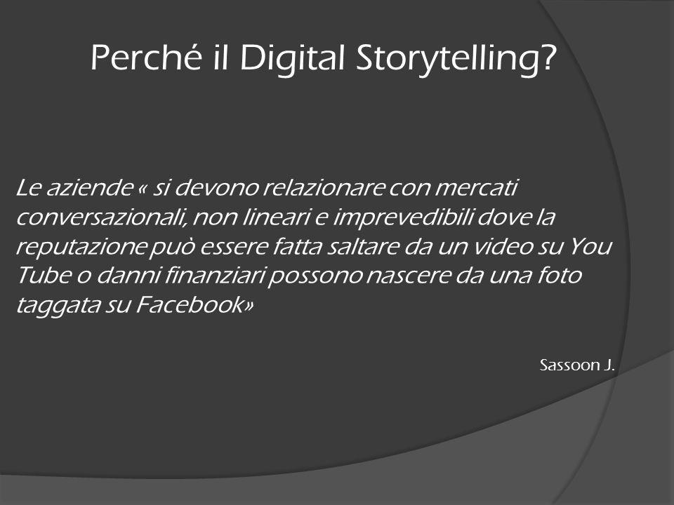Perché il Digital Storytelling