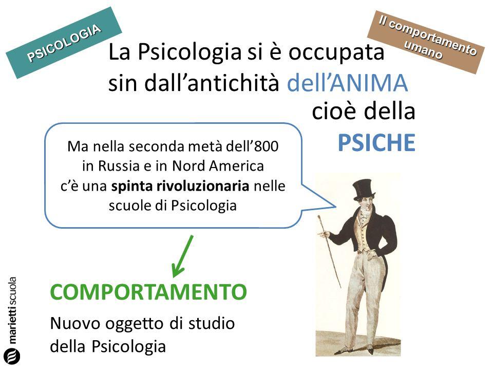 La Psicologia si è occupata sin dall'antichità