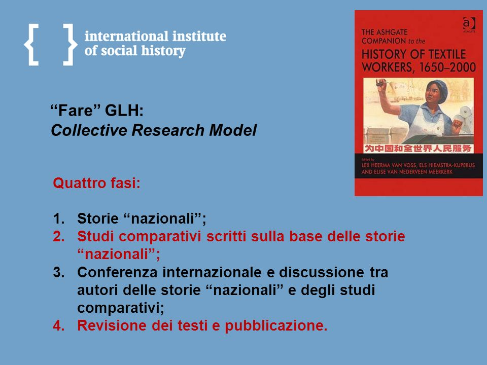 Fare GLH: Collective Research Model
